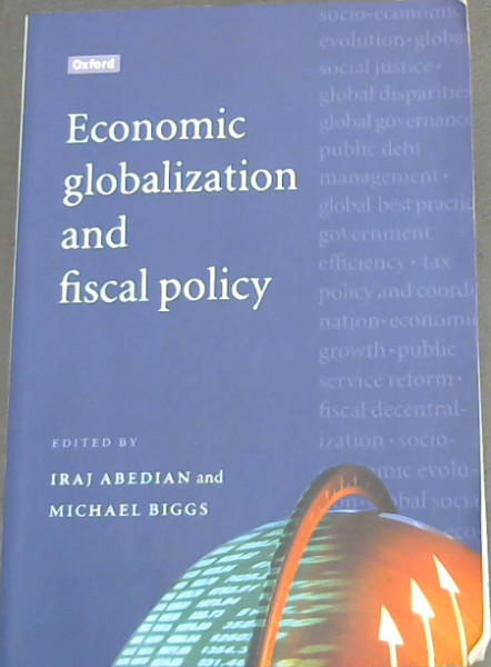 Image for Economic Globalization and Fiscal Policy