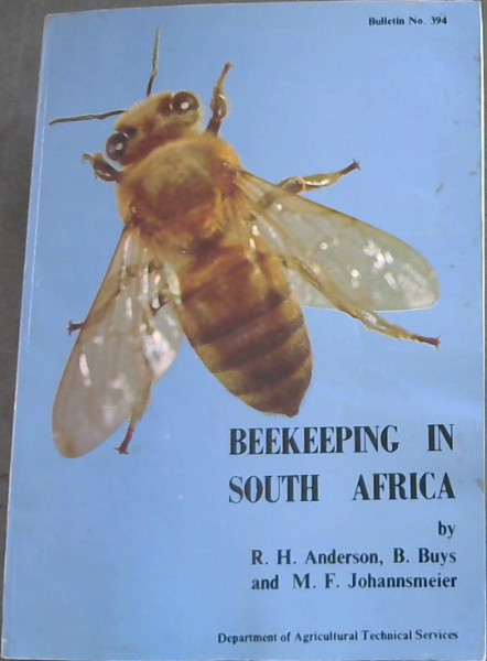 Image for BEEKEEPING IN SOUTH AFRICA  - Bulletin No.394.