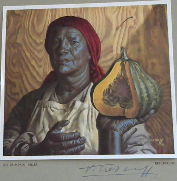 Image for Tretchikoff Print - Signed: Pumpkin Seller