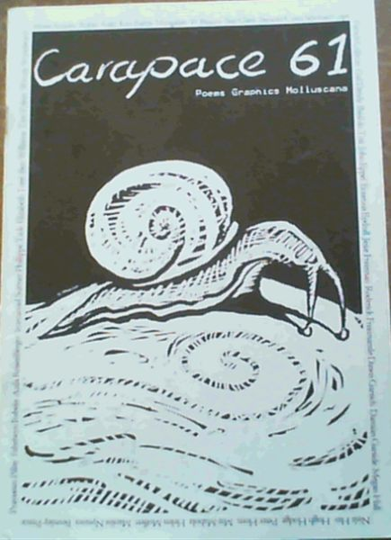 Image for Carapace 61; Poems Graphics Molluscana