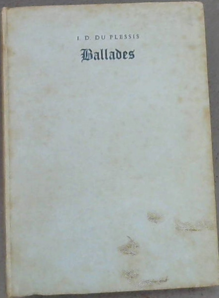 Image for Ballades