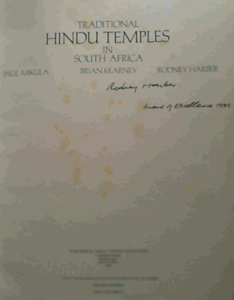 Image for Traditional Hindu Temples in South Africa