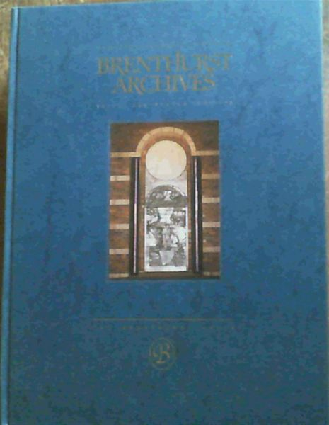 Image for Brenthurst Archives, Volume 2 Number 2
