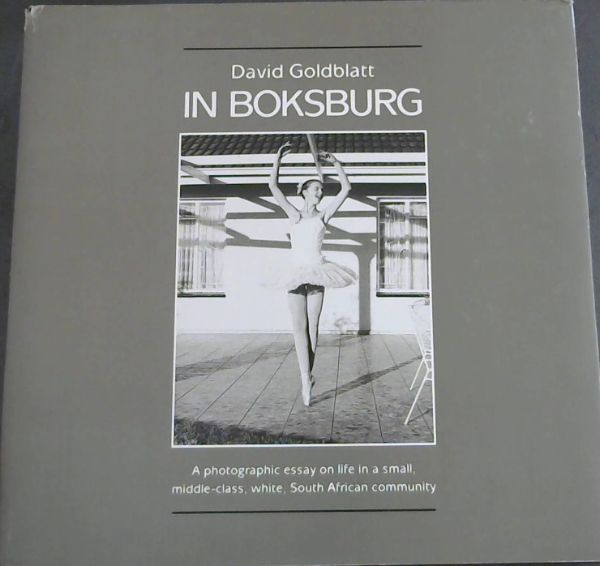 Image for In Boksburg (The South African Photographic Gallery 1)