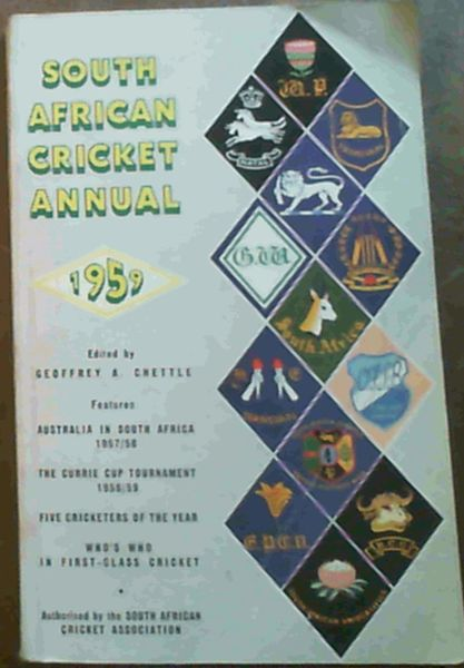 Image for South African Cricket Annual 1959