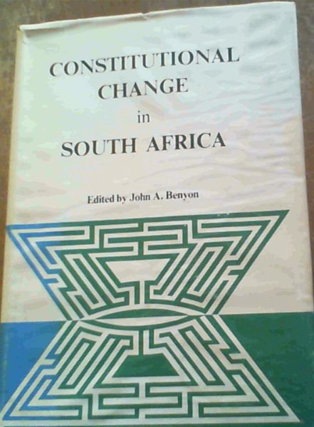 Image for Constitutional Change in South Africa