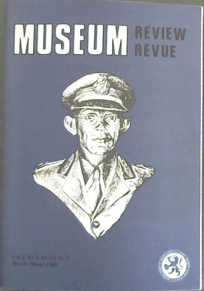 Image for MUSEUM REVIEW Vol 2 - No.2 / Museum Revue Deel 2 - Nr2 (MARCH / MAART 1989