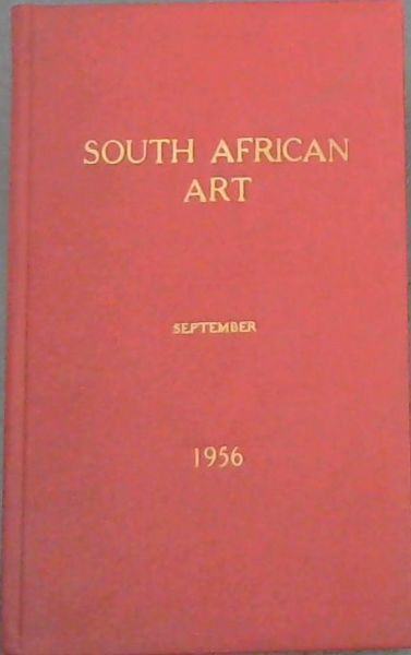 Image for SOUTH AFRICAN ART - whence and whither? (SEPTEMBER)