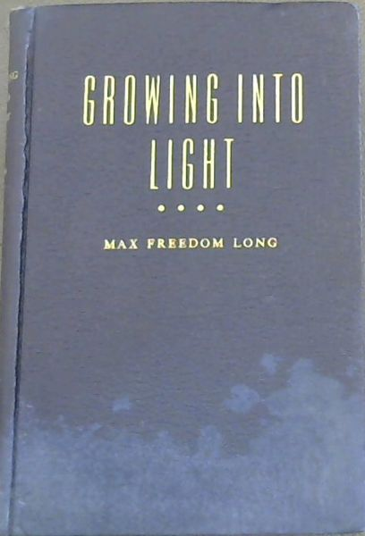 Image for GROWING INTO LIGHT
