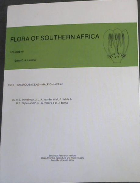 Image for Flora of Southern Africa Series, Vol. 18 (Flora of Southern Africa)