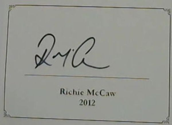 Image for The Real McCaw: The Autobiography Of Richie McCaw
