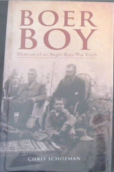 Image for Boer Boy: Memoirs of an Anglo-Boer War Youth