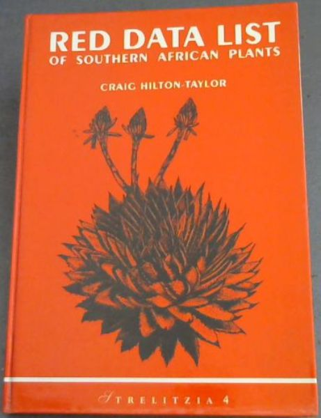 Image for Red data list of southern African plants (Strelitzia 4)