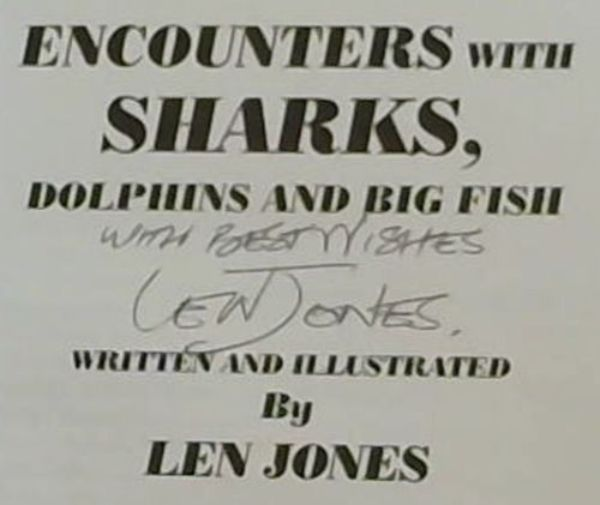 Image for ENCOUNTERS WITH SHARKS, DOLPHINS AND BIG FISH. EDITED BY JESSICA JONES.