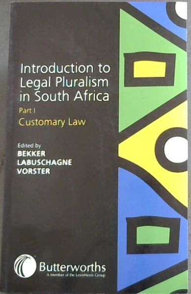 Image for Introduction to Legal Pluralism in South Africa Part 1 - Customary Law