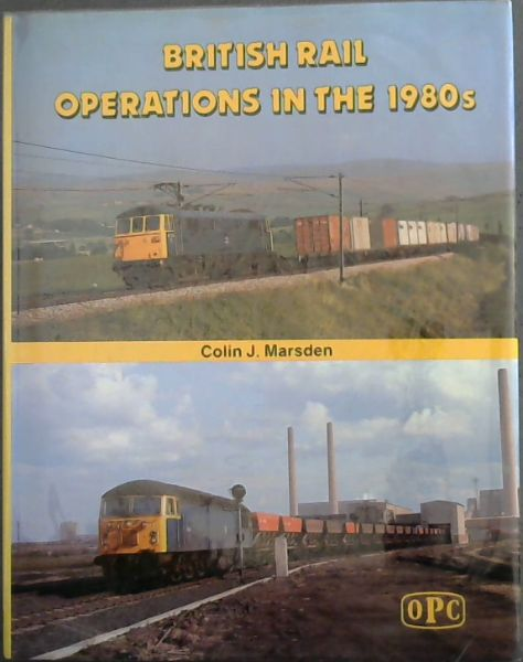 Image for British rail operations in the 1980s