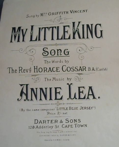 Image for MY LITTLE KING (Song)