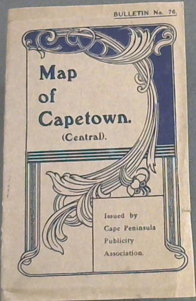 Image for MAP OF CAPETOWN (Central) - BULLETIN No.76