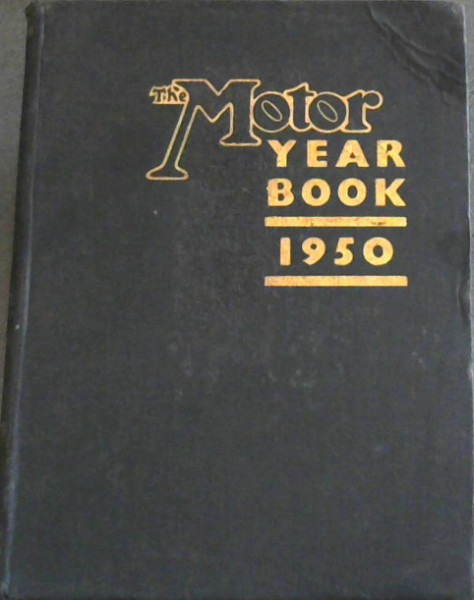 Image for The Motor Year Book 1950