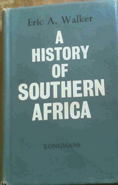 Image for A History of Southern Africa