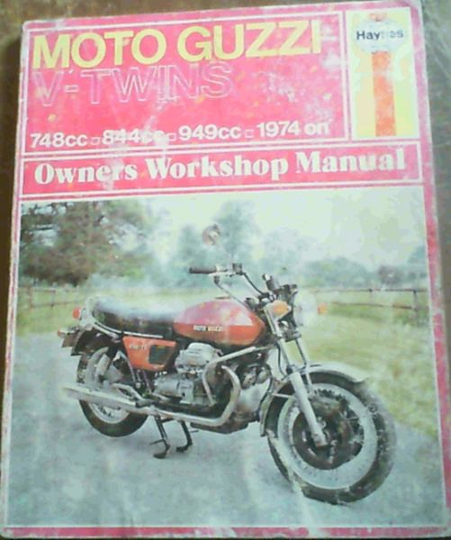 Image for Moto Guzzi 750, 850 and 1000V.twins Owners Workshop Manual