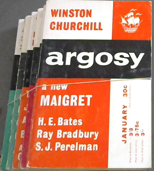 Image for Argosy - Vol XXIV - 1963 - 6 issues