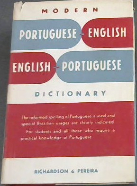 Image for Modern Portuguese-English / English-Portuguese Dictionary
