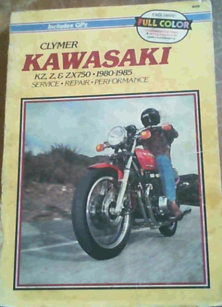 Image for Kawasaki KZ, Z & ZX750, 1980-1985 Service, Repair, Performance