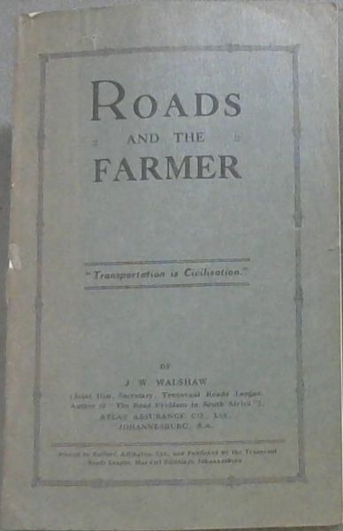 Image for Roads and the Farmer / Paaie en die Boer
