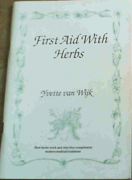 Image for First Aid With Herbs