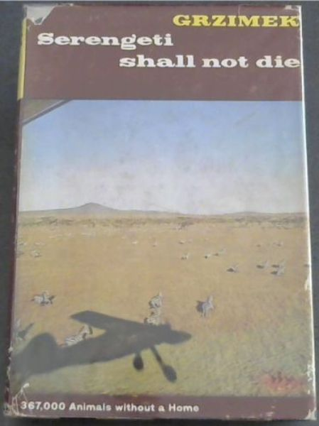 Image for Serengeti Shall Not Die