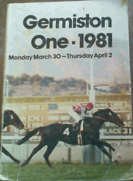 Image for Germiston One Yearling Sales TBA Comlex,Germiston March 30 to april 2, 1981
