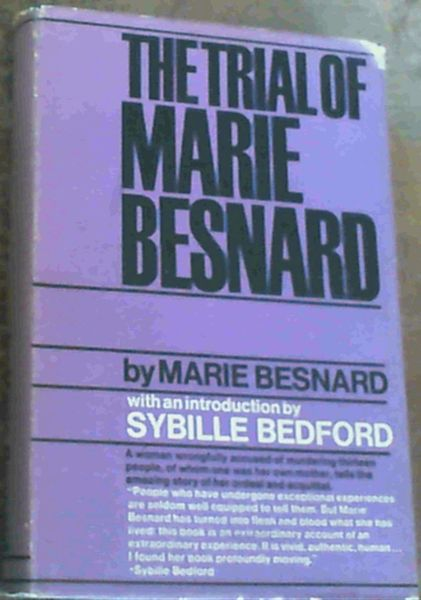 Image for The Trial of Marie Besnard