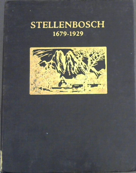 Image for Stellenbosch 1679-1929