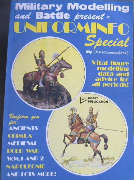 Image for Uniforminfo Special (Military Modelling and Battle)