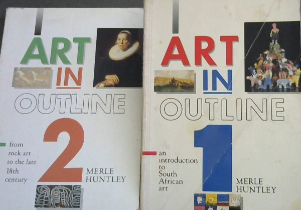 Image for Art in Outline: an introduction to South African art and from rock art to the late 18th century (2 volumes)