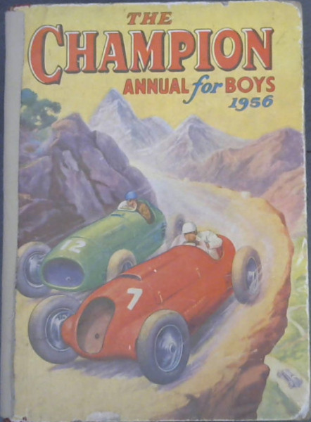 Image for The Champion Annual for Boys 1956