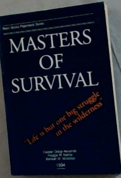 Image for Masters of survival (Basic Books paperback series)