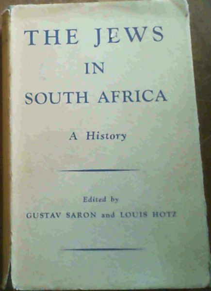Image for The Jews in South Africa : A History