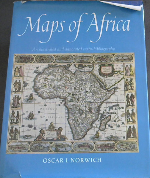 Image for Maps of Africa: An illustrated and annotated carto-bibliography