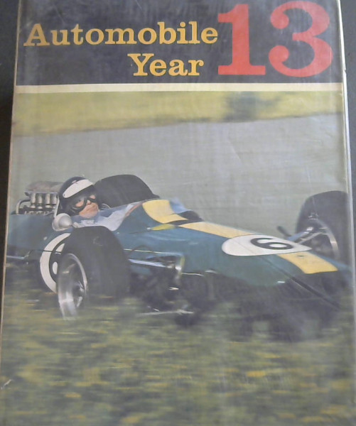 Image for Automobile Year 13 : 1965-66