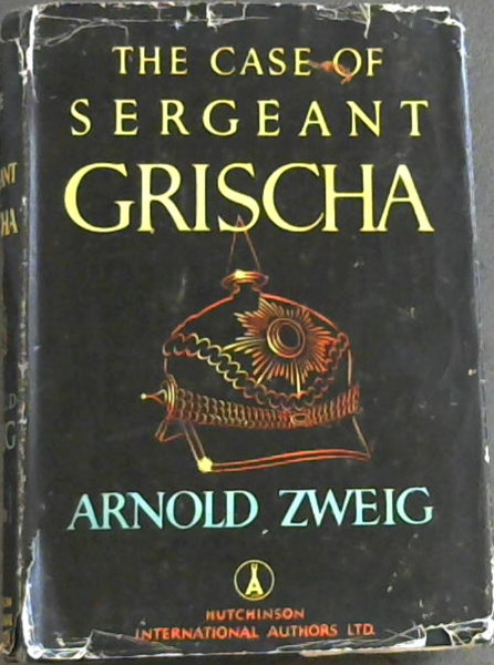 Image for The Case Of Sergent Grischa