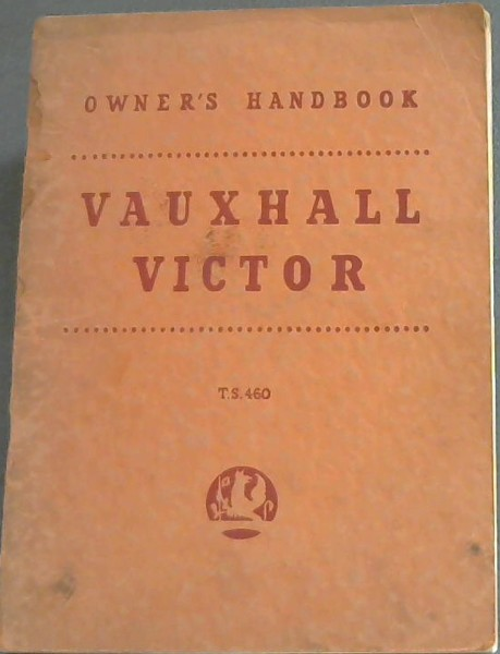 Image for Owner's Handbook: Vauxhall Victor - TS460