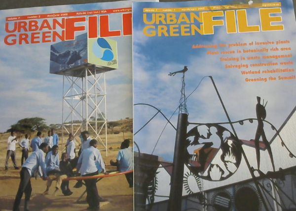 Image for Urban Green File: Volume 7. Nos 1 ,March/April 2002; No. 2, May/June 2002