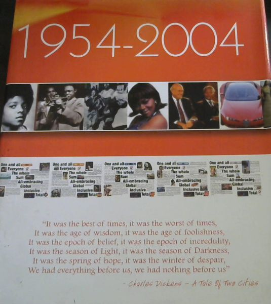 Image for Total South Africa Fifty Years in Total. 1954-2004.