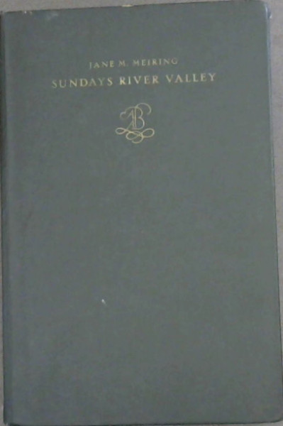 Image for Sundays River Valley : Its History and Settlement