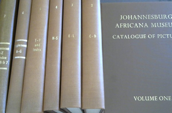 Image for Johannesburg Africana Museum Catalogue of Pictures - Seven Vols