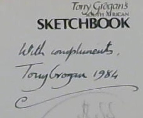 Image for Tony Grogan's South African Sketchbook