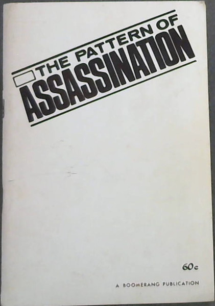Image for The Pattern of Assasination