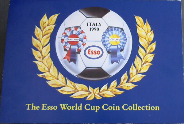 Image for Italy 1990: England / Scotland - The Esso World Cup Coin Collection